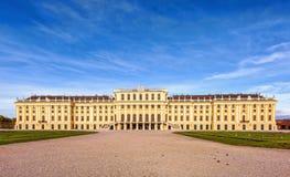 奥地利schonbrunn宫殿 免版税图库摄影