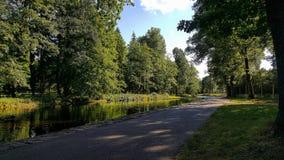 奥塔瓦河河,捷克 免版税图库摄影