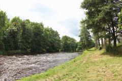 奥塔瓦河河,捷克 库存照片