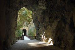 奥塞罗铁路隧道,不列颠哥伦比亚省 免版税图库摄影
