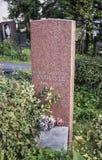 费奥多尔Alliluyev,兄弟娜杰日达斯大林的妻子的坟墓  免版税图库摄影