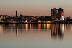 奥尔堡港口 库存图片