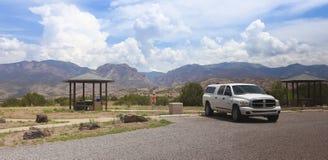 奥尔多沿NM 180,新墨西哥的利奥波德景色 免版税库存照片