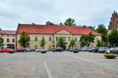 奥尔库什市在波兰 免版税图库摄影