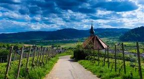 奥尔斯巴赫教堂在德国 免版税库存图片