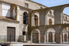 奥尔梅多城镇厅 库存图片