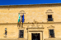 奥尔特加Palace教务长在宇部,西班牙 免版税库存图片
