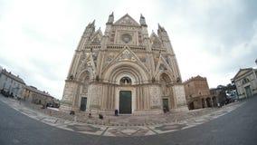 奥尔维耶托大教堂,古迹,地标,大厦,大教堂 库存图片