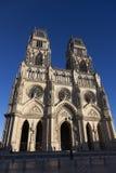 奥尔良,安德尔卢瓦尔省大教堂  免版税库存图片