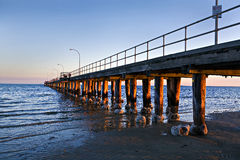 奥尔顿码头墨尔本澳大利亚 库存图片