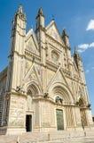 奥尔维耶托大教堂,意大利 免版税图库摄影