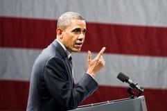 奥巴马总统 库存图片