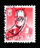 奥拉夫V, serie国王,大约1962年 免版税图库摄影