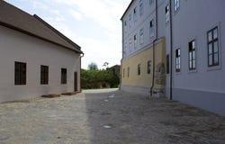 奥拉迪亚,罗马尼亚- 18可以2016年,城堡 免版税图库摄影