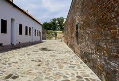 奥拉迪亚,罗马尼亚- 18可以2016年,城堡 免版税库存图片