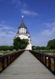 奥拉迪亚,罗马尼亚- 18可以2016年,城堡 库存图片