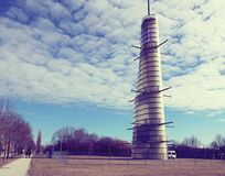 奥斯卡冯米勒metereological塔,德国 免版税库存照片