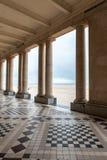 奥斯坦德海滩的旅馆 图库摄影