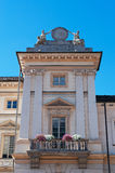 奥斯塔,瓦莱达奥斯塔,意大利,欧洲 免版税库存图片