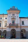 奥斯塔,瓦莱达奥斯塔,意大利,欧洲 免版税图库摄影