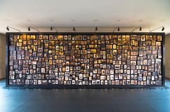 奥斯威辛集中营,波兰的受害者照片  免版税库存照片
