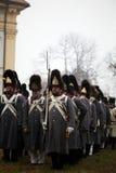 奥斯德立兹战役 库存照片