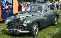 奥斯汀光束Talbot 90经典之作葡萄酒汽车 免版税库存图片