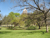 奥斯汀公园得克萨斯 免版税库存照片