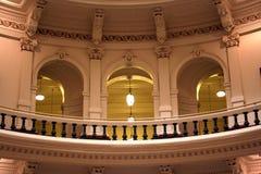 奥斯汀大厦国会大厦街市里面状态得克萨斯 免版税库存图片