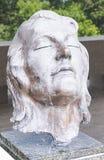 奥斯汀得克萨斯2017年9月17日:在Lyndon B Johsnon LBJ图书馆和博物馆的一个雕塑在Austi 免版税库存图片