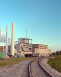 奥斯汀能源厂 库存图片