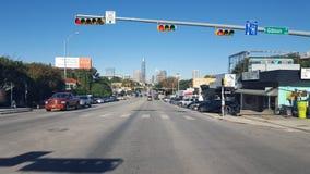 奥斯汀, TX城市视图 免版税库存图片