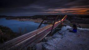 360奥斯汀, TX桥梁  免版税图库摄影
