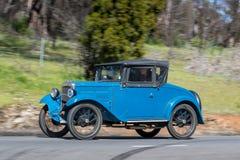 1932年奥斯汀7亲密的跑车 免版税库存照片