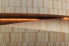 奥斯陆歌剧院的内部,挪威 免版税库存照片
