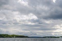奥斯陆港 免版税图库摄影
