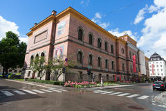 奥斯陆,挪威- 2016年7月29日:国家肖像馆是画廊 自2003年以来它是行政国家博物馆o的部分 免版税库存图片