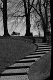 奥斯陆-楼梯 免版税库存照片