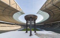 奥林匹亚体育场,在柏林,德国 库存图片