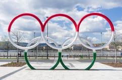 奥林匹亚公园,布达佩斯,匈牙利 免版税库存图片