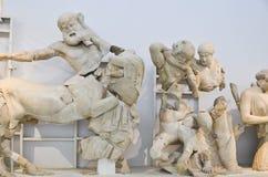 奥林匹亚博物馆 库存照片