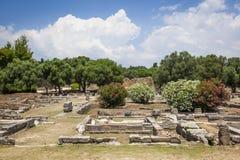 奥林匹亚希腊 库存照片