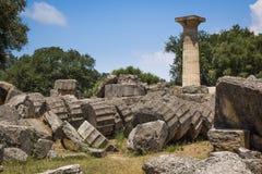 奥林匹亚希腊 库存图片
