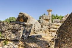 奥林匹亚,希腊古老站点  图库摄影