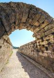 奥林匹亚,希腊古老站点  库存图片