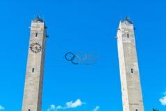 奥林匹克体育场在柏林 免版税库存图片