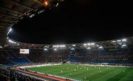 奥林匹克体育场在罗马,意大利 图库摄影