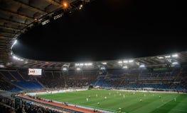 奥林匹克体育场在罗马,意大利 免版税库存照片