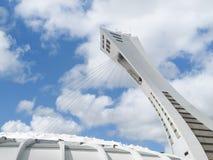 奥林匹克体育场在蒙特利尔,加拿大 免版税库存图片