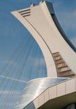 奥林匹克体育场帆柱 库存图片